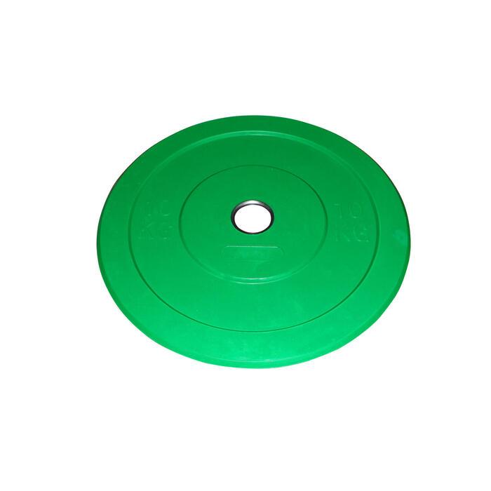 Schijf Bumper 10 kg groen