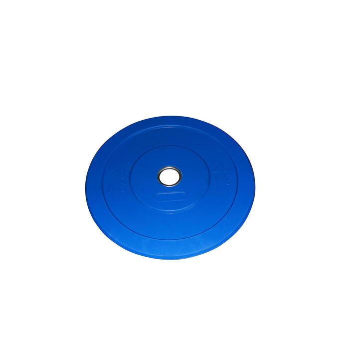 DISQUE BUMPER 20KG BLEU - 1071264