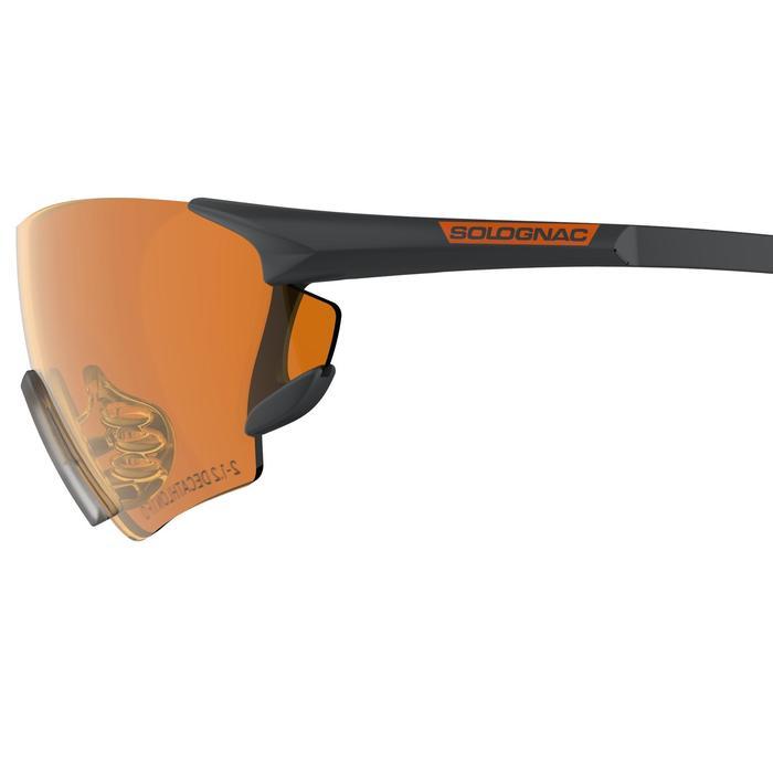 Gafas Ball Trap Solognac Clay 100 Protección Impactos Cristales Intercambiables