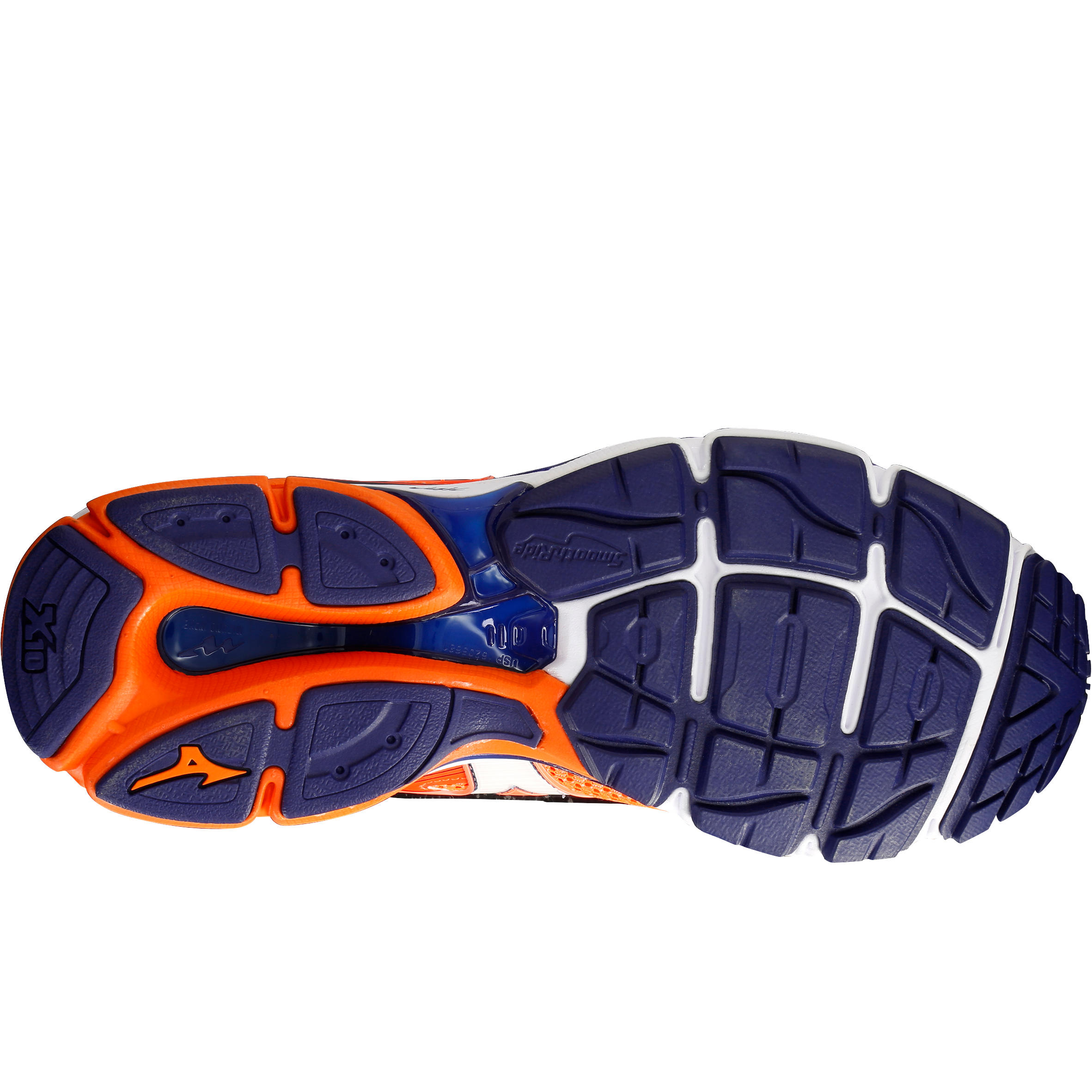 Homme Orange Ultima Chaussure Mizuno Running Wave Bleu 8 f6gv7byY