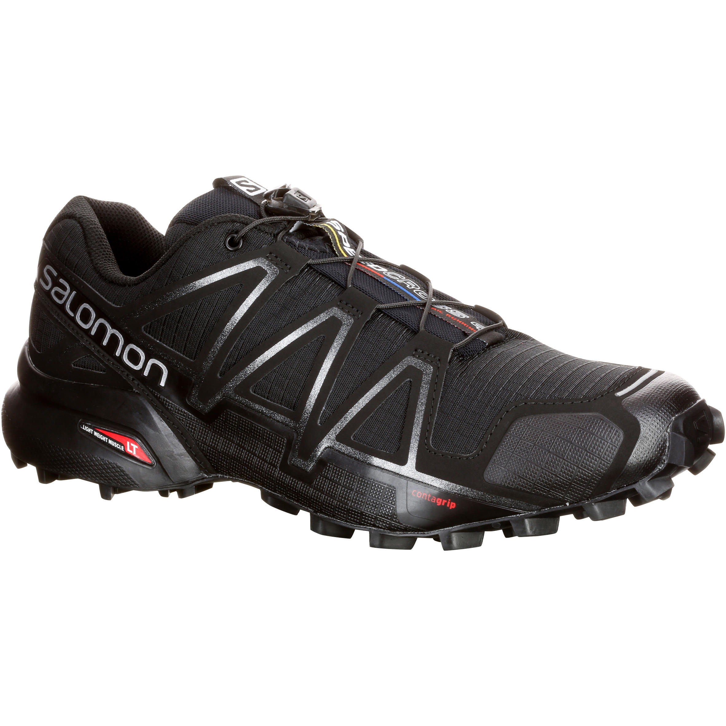 Zapatillas de Trail Running Hombre SALOMON SPEEDCROSS 4 negro
