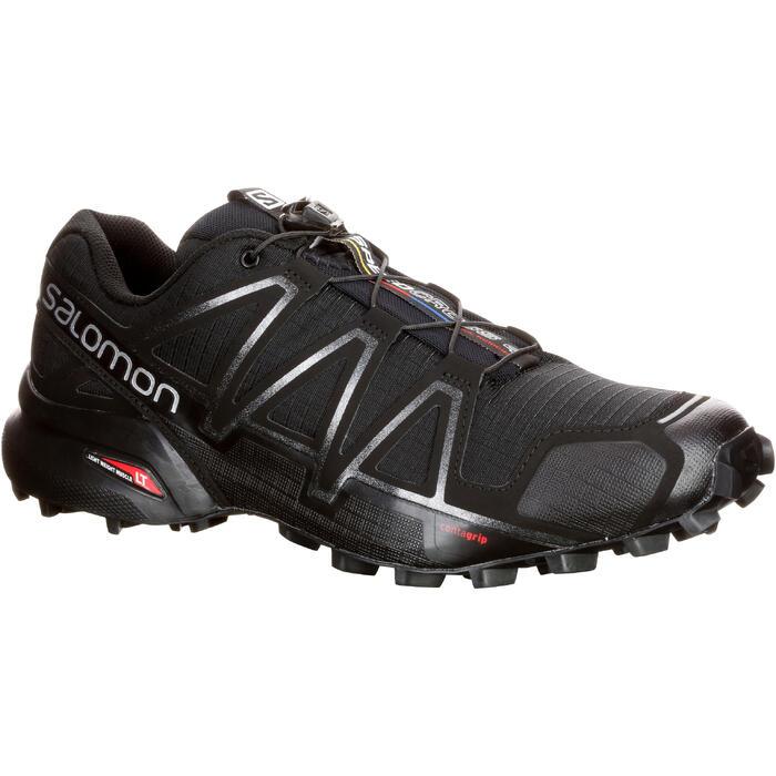 Chaussure Trail Running Homme SALOMON SPEEDCROSS 4 noir - 1071482