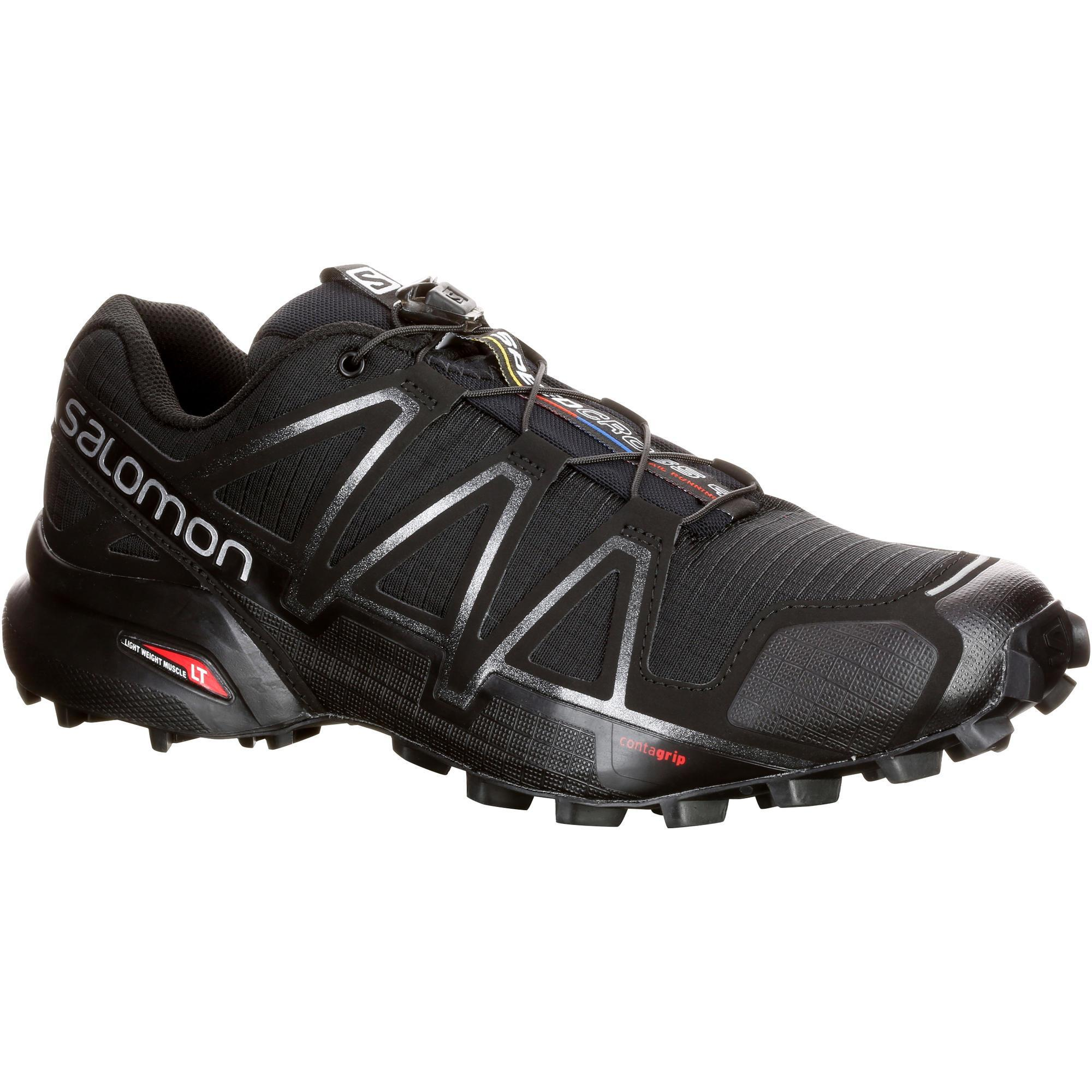 11c9e4a6f6a Salomon Trailschoenen heren Salomon Speedcross 4 zwart | Decathlon.nl