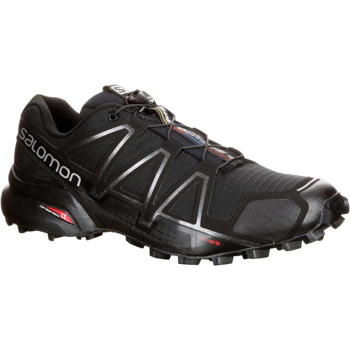 3b7c3b2cece2 Zapatillas de Trail Running Hombre SALOMON SPEEDCROSS 4 negro ...