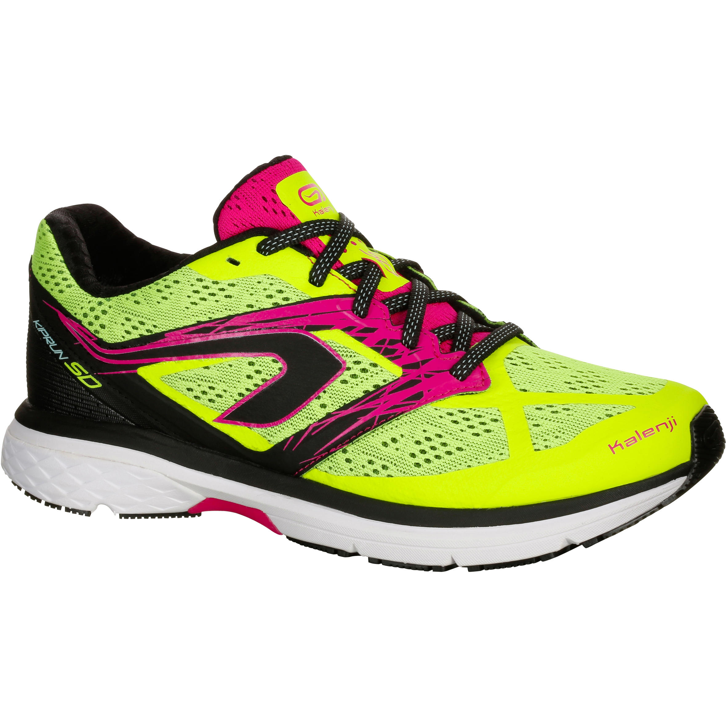 Kiprun SD Women's Running Shoes - Yellow Pink