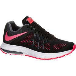 Loopschoenen voor dames Nike Winflo 3 zwart/roze