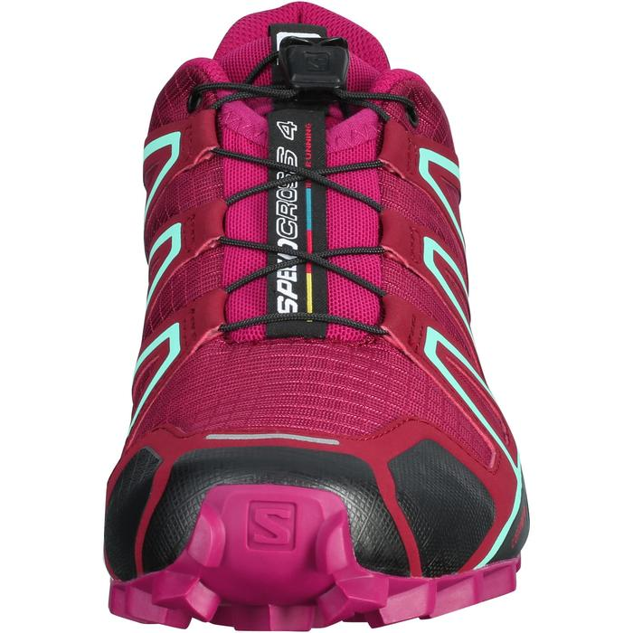 Trailschoenen dames Salomon Speedcross 4 paars