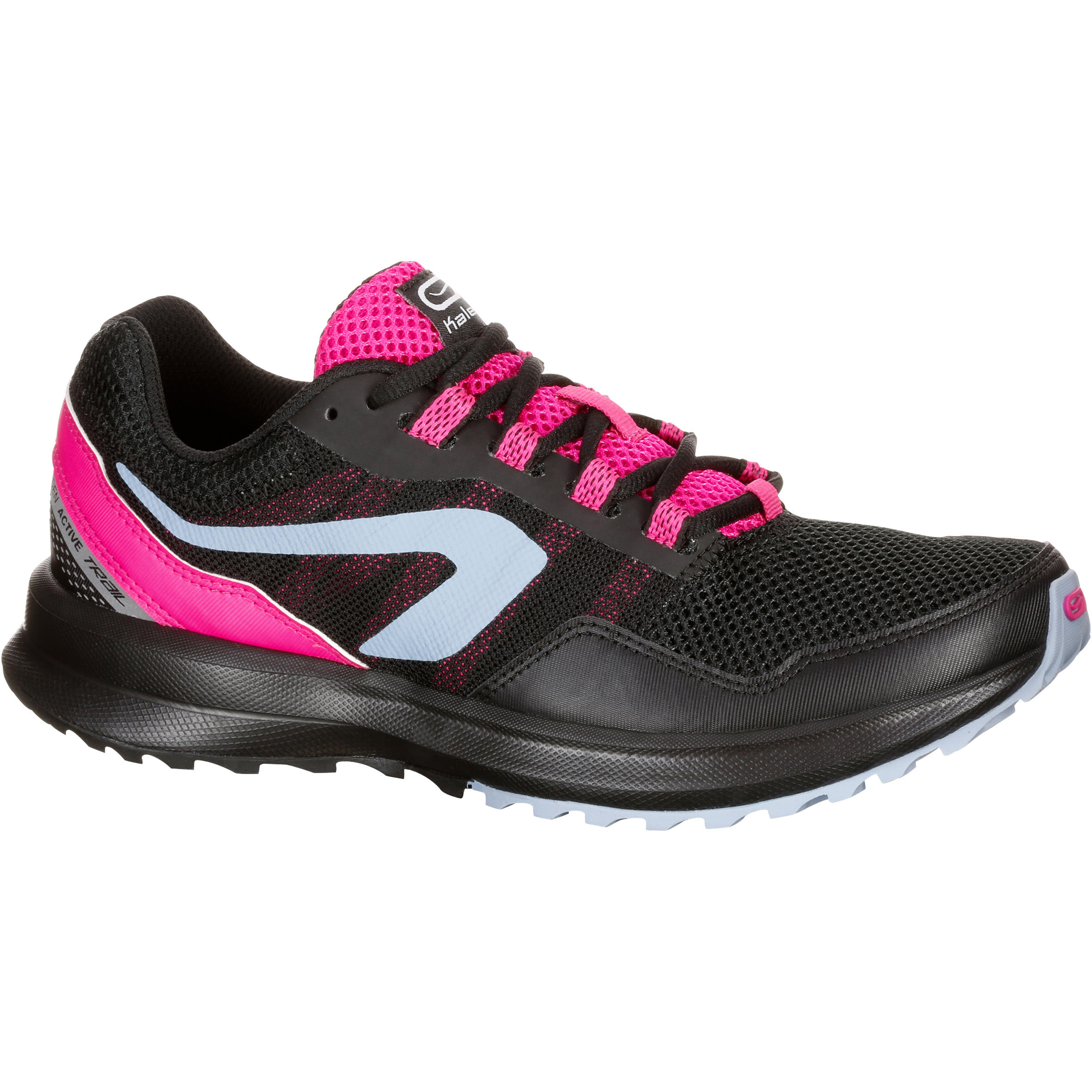 Run Active Grip Women's Jogging Shoes - Black Pink