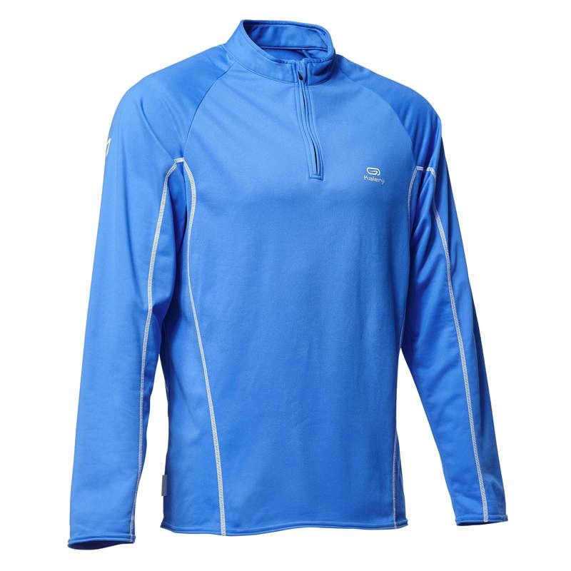 OCCASIONAL MAN JOG COLD WEATHER CLOTHES - Run Warm Men's LS T-Shirt KALENJI