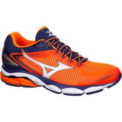 Hardloopschoenen heren Mizuno Wave Ultima 8 oranje/blauw