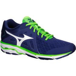 Hardloopschoenen heren Mizuno Wave Orion blauw/groen
