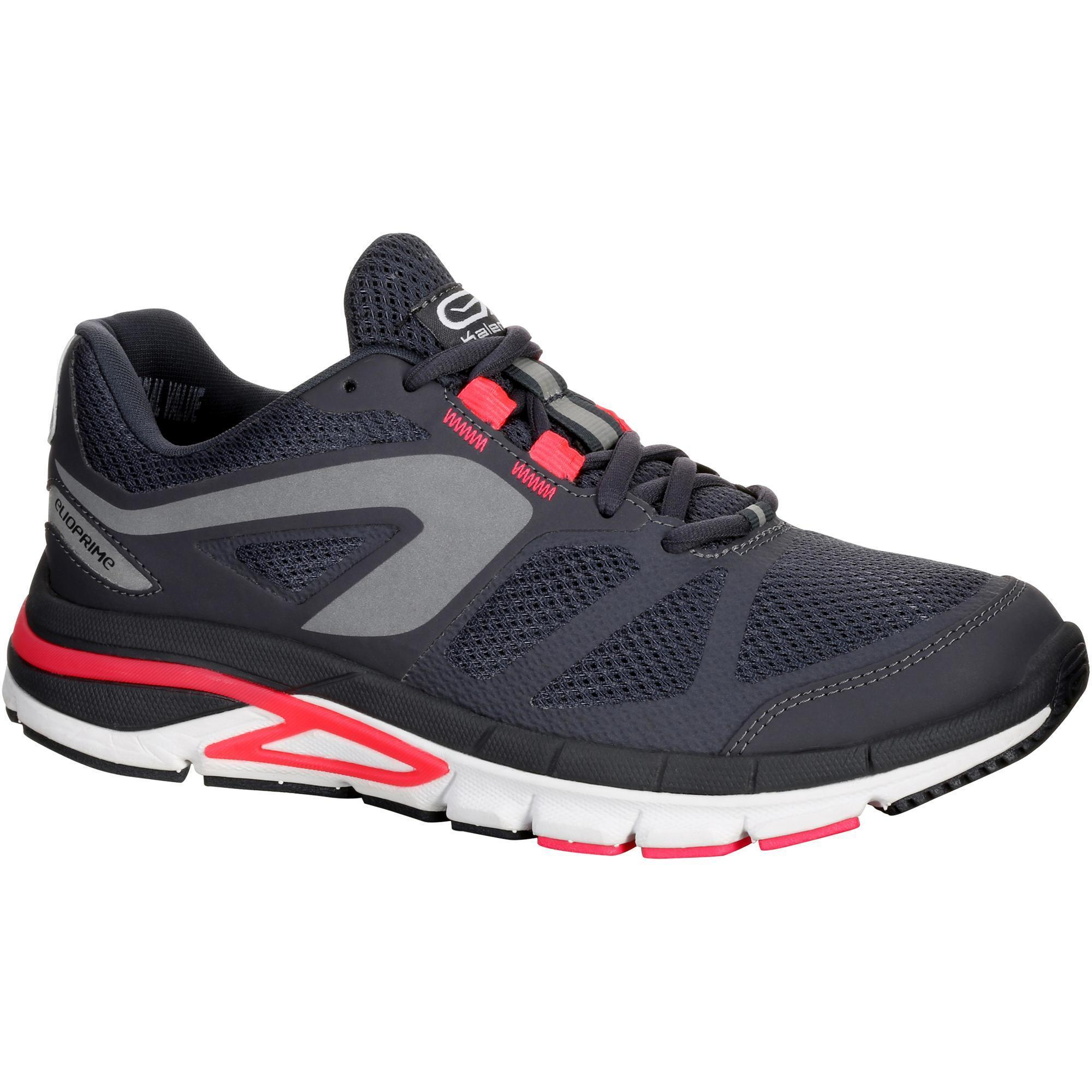 scarpe running donna scarpe running donna run elioprime grigio  corallo kalenji 8380024 1071803 17c9a09aa79