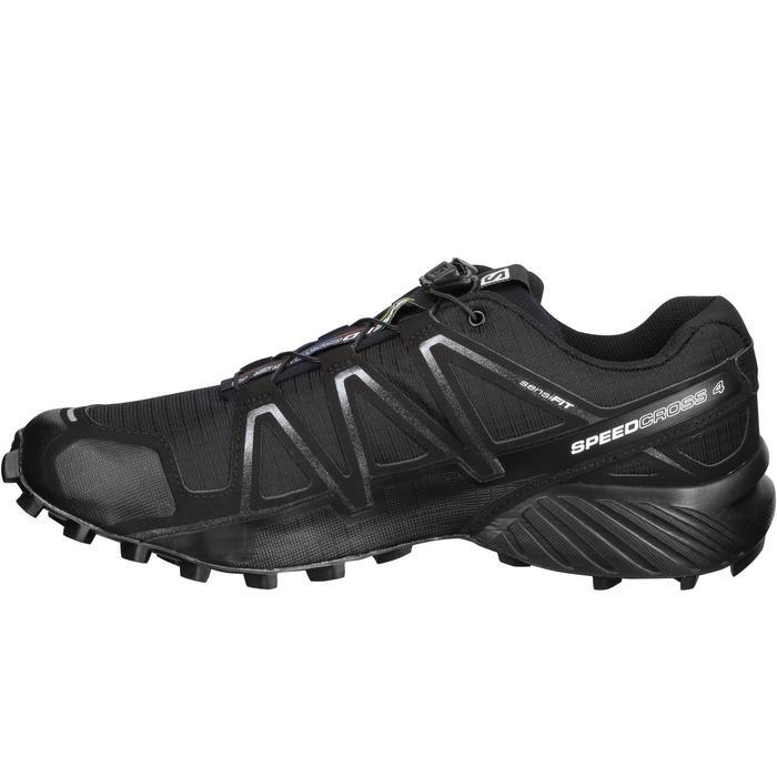 Chaussure Trail Running Homme SALOMON SPEEDCROSS 4 noir - 1071827