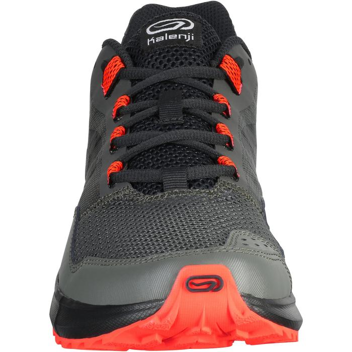 CHAUSSURE COURSE A PIED HOMME RUN ACTIVE GRIP KAKI ROUGE