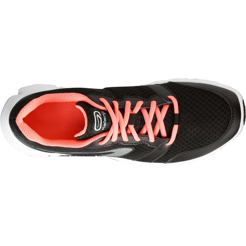 Run One Plus Women's Running Shoes - Black/Coral