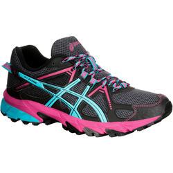 Trailschoenen voor dames Asics Gel Kanaku 2 zwart blauw