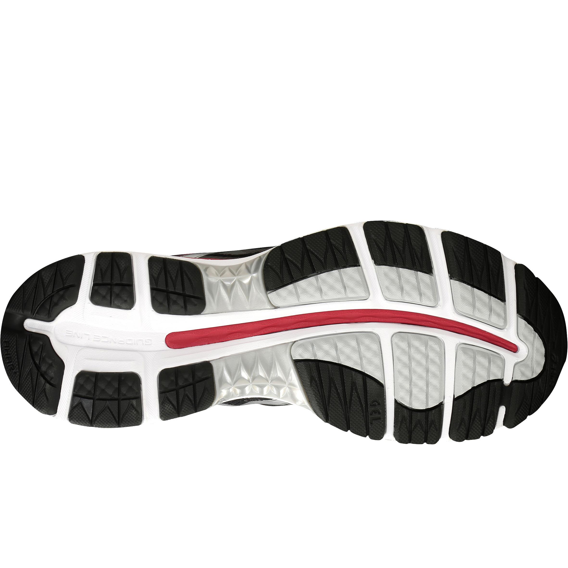 Asics Gel De Chaussure Running Rouge Ziruss Homme Noir nwP80Ok