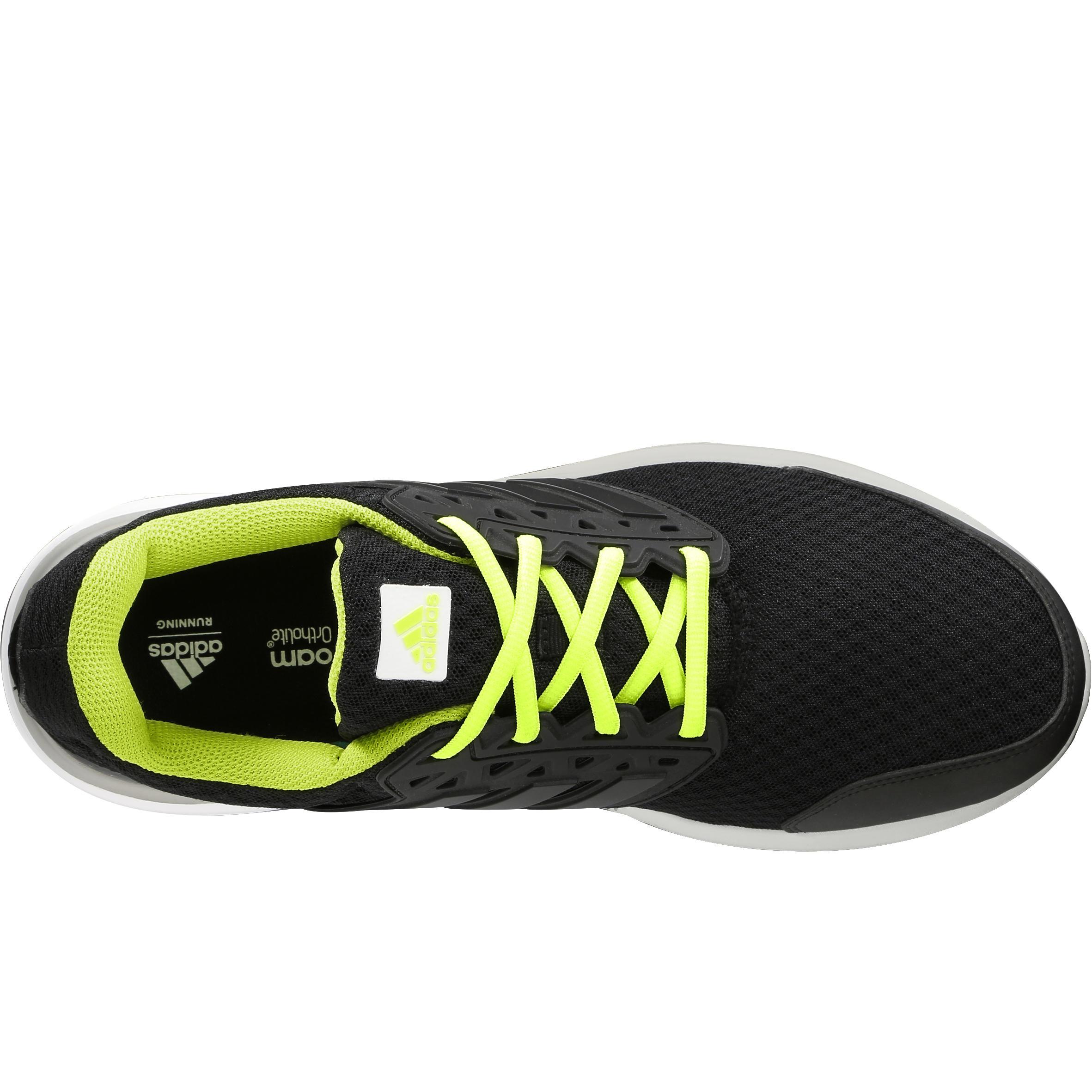 Hardloopschoenen voor heren Adidas Galaxy Elite zwart-geel