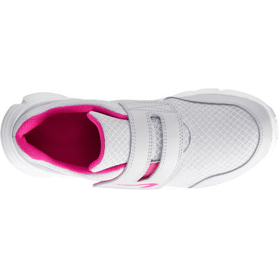 EKIDEN ONE CHILDREN'S ATHLETICS SHOES GREY AND PINK