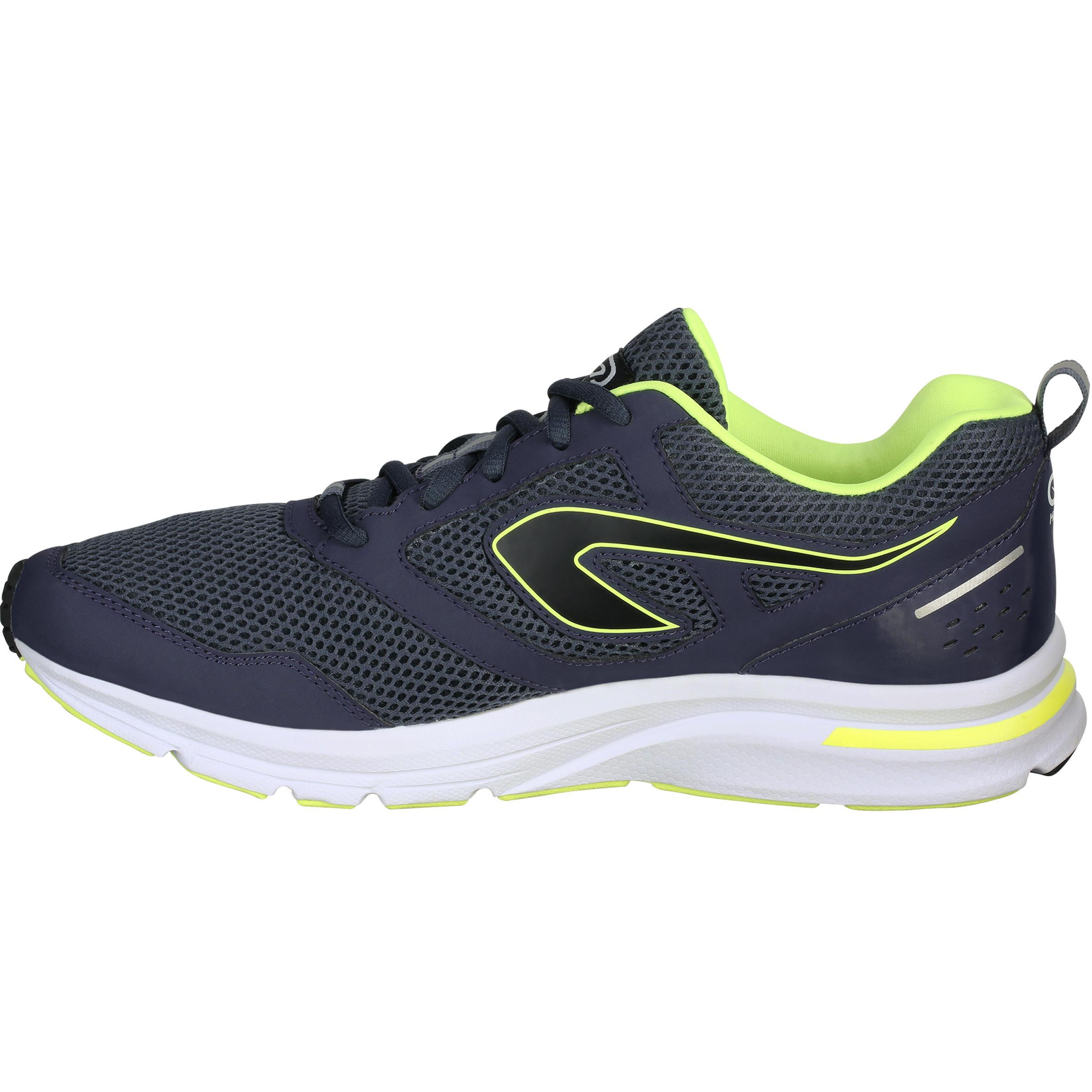 RUN ACTIVE MEN'S RUNNING SHOES - DARK GREY [RATING: 4.3 ★]