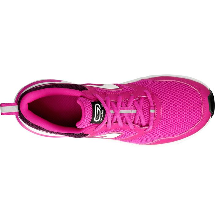 CHAUSSURES JOGGING FEMME RUN ACTIVE CORAIL - 1072199