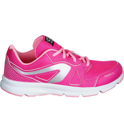Ekiden Active Children's Running Lace-Up Shoes - Pink