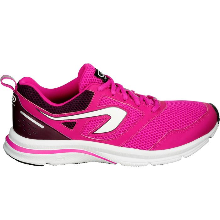 CHAUSSURES JOGGING FEMME RUN ACTIVE CORAIL - 1072223