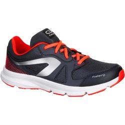 CHAUSSURES RUNNING ENFANT EKIDEN ACTIVE LACET GRIS ORANGE