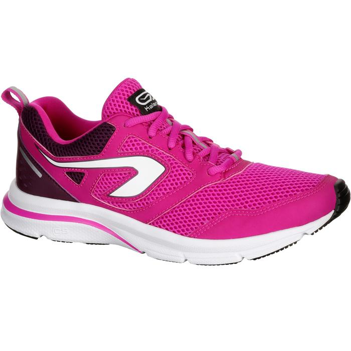 CHAUSSURES JOGGING FEMME RUN ACTIVE CORAIL - 1072328