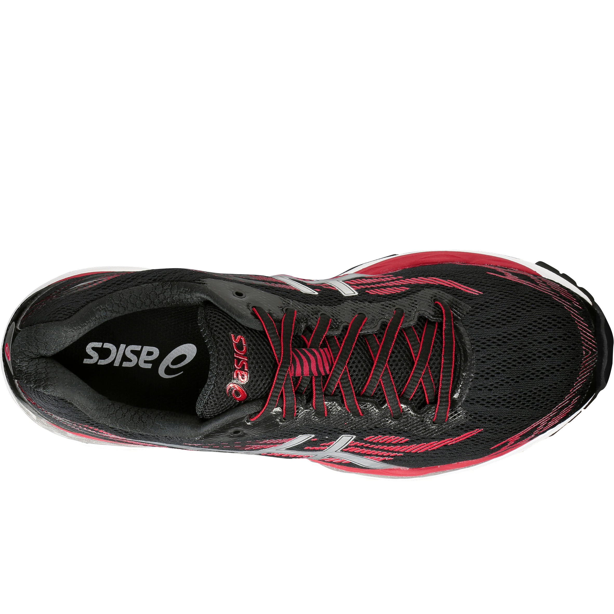 official photos b9dde 460d7 Rouge Noir Ziruss Chaussure Gel Asics Homme De Running Decathlon wXxX0qYT