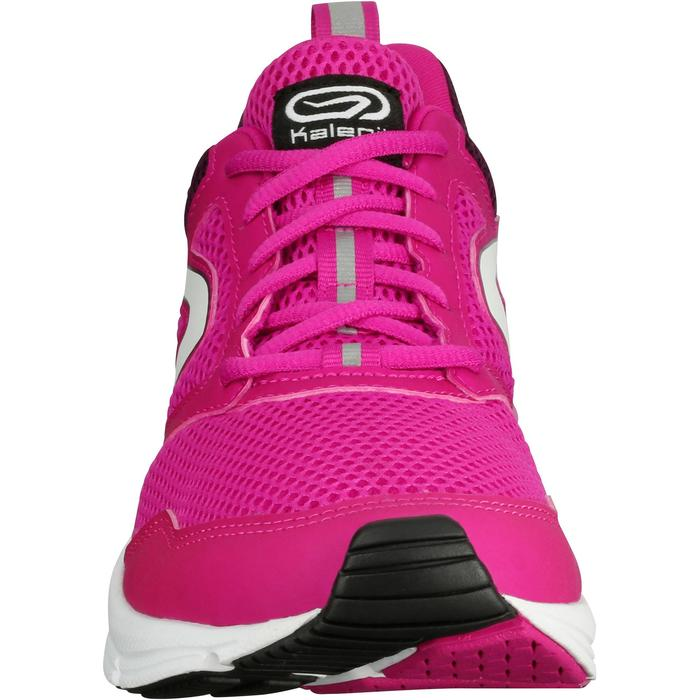 CHAUSSURES JOGGING FEMME RUN ACTIVE CORAIL - 1072342