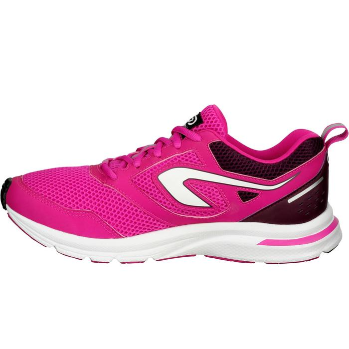 CHAUSSURES JOGGING FEMME RUN ACTIVE CORAIL - 1072363