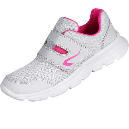EKIDEN ONE CHILDREN'S TRACK & FIELD SHOES GREY AND PINK