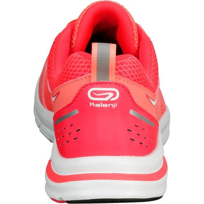 Zapatillas Running Kalenji Run Active Mujer Coral Fluorescente