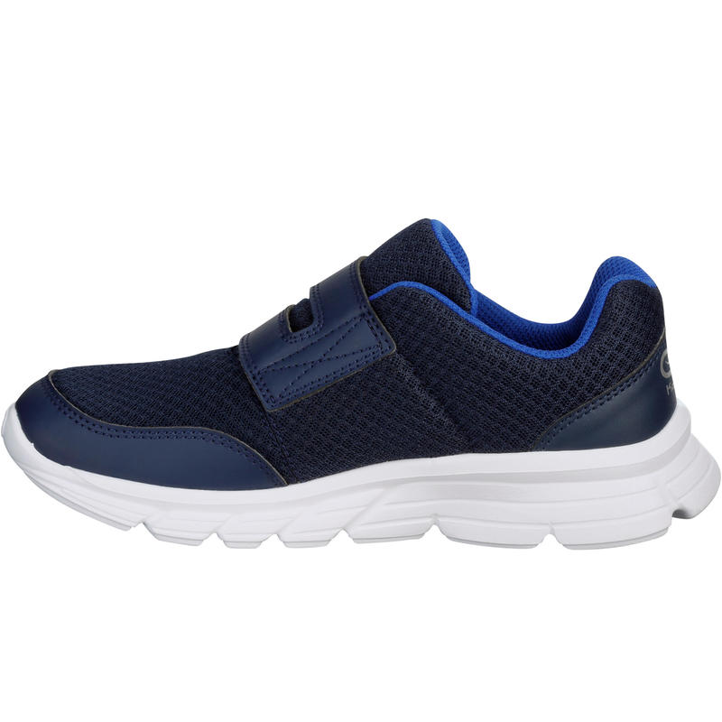 EKIDEN ONE CHILDREN'S ATHLETICS SHOES NAVY BLUE