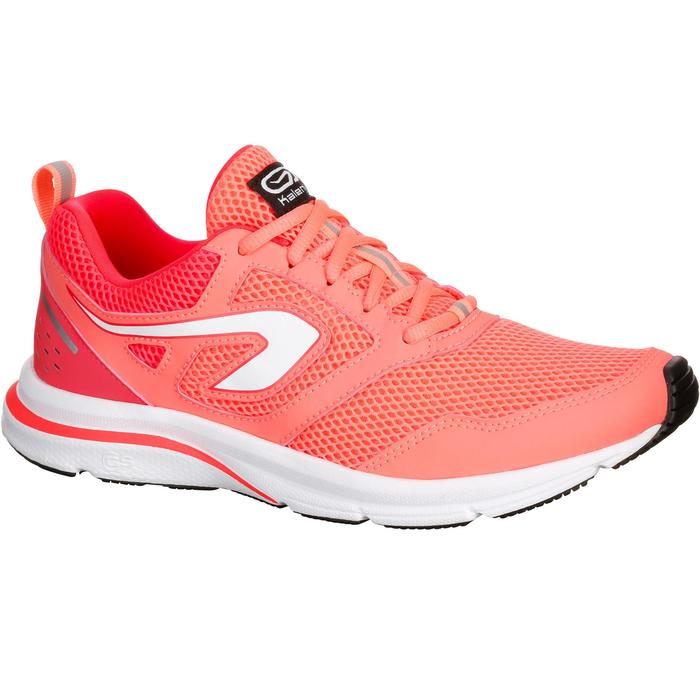 CHAUSSURES JOGGING FEMME RUN ACTIVE CORAIL - 1072434