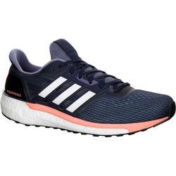 Loopschoenen voor dames Adidas Supernova Glide Boost 9 blauw/roze