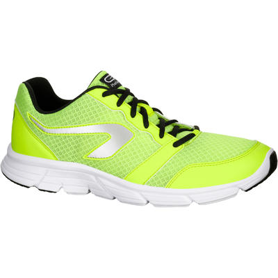 CHAUSSURE COURSE A PIED HOMME RUN ONE PLUS JAUNE