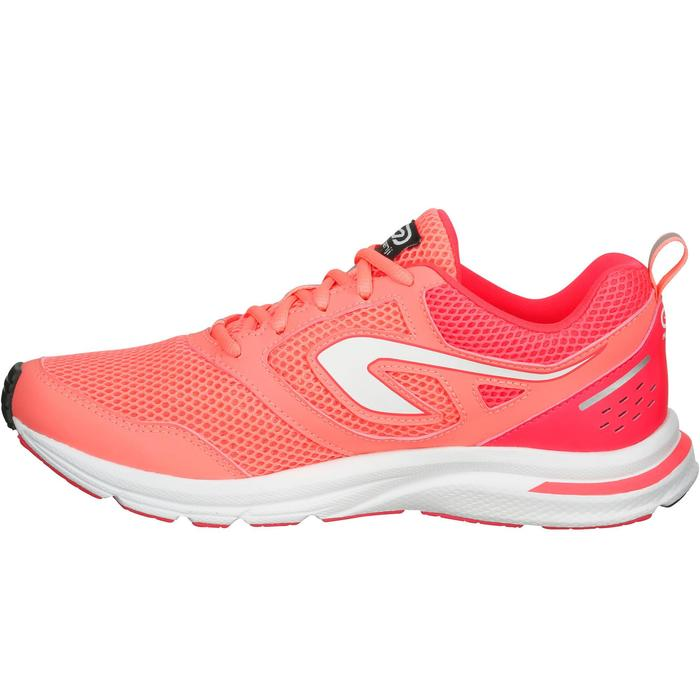 CHAUSSURES JOGGING FEMME RUN ACTIVE CORAIL