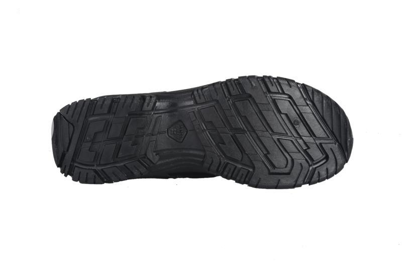 Crne muške cipele za pešačenje NH100