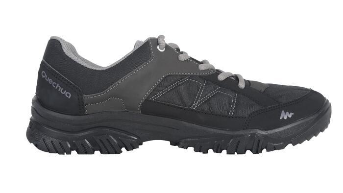 Giày leo núi dã ngoại cổ lửng Arpenaz 50 cho nam - Đen