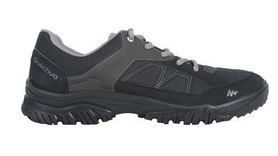 Men's NH100 country walking boots - black