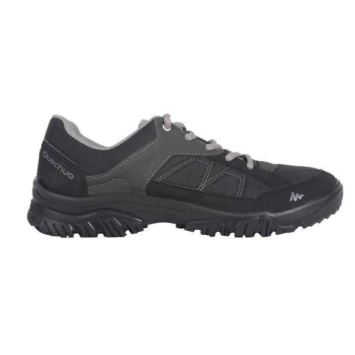 Chaussure de randonnée nature NH100 noire homme - 1072516