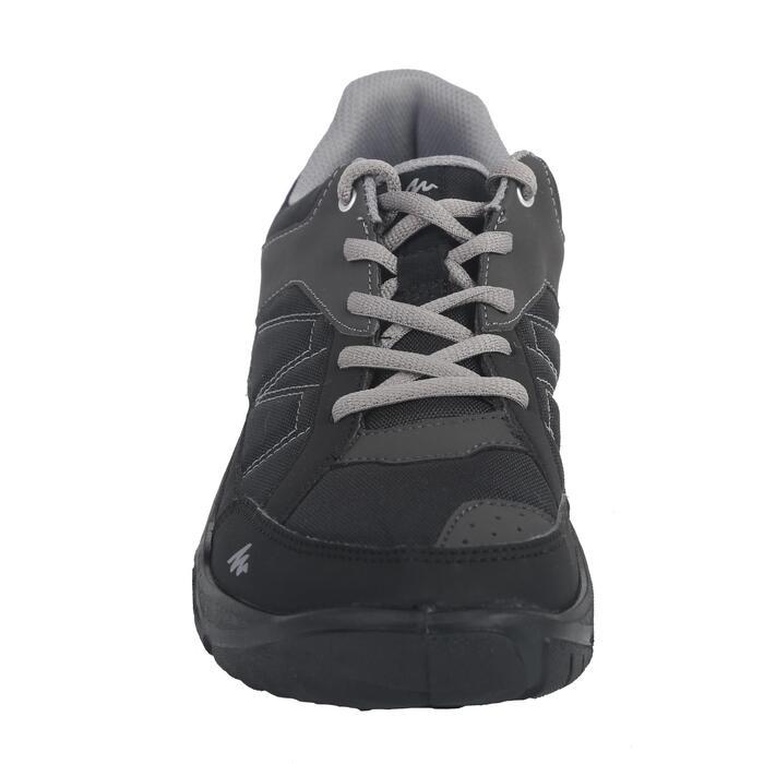 Zapatillas de senderismo naturaleza NH100 negro hombre