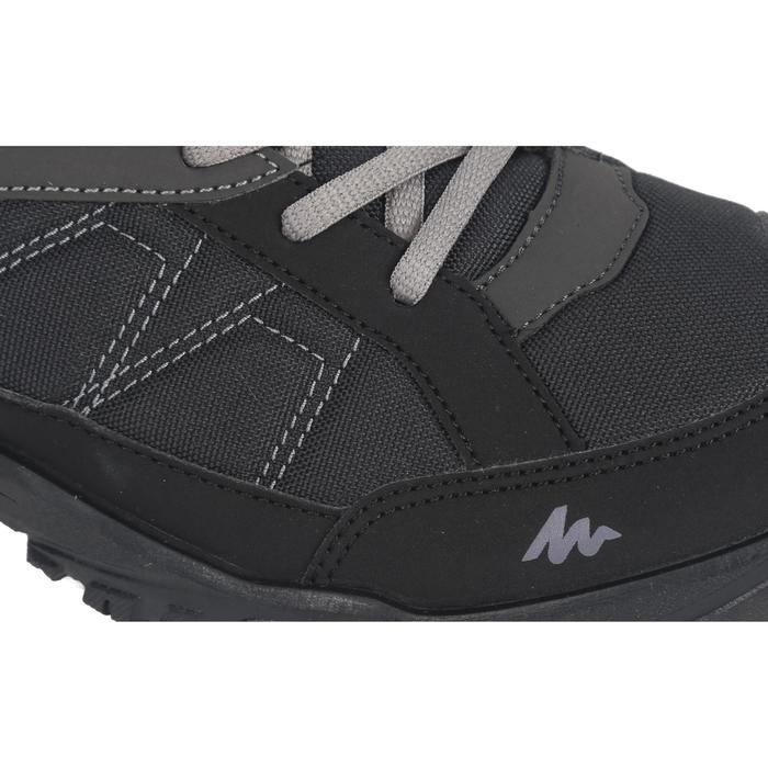 Zapatillas de montaña y senderismo naturaleza NH100 negro hombre