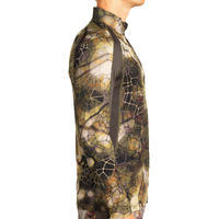 T-SHIRT CHASSE MANCHES LONGUES SILENCIEUX RESPIRANT 500 FURTIV