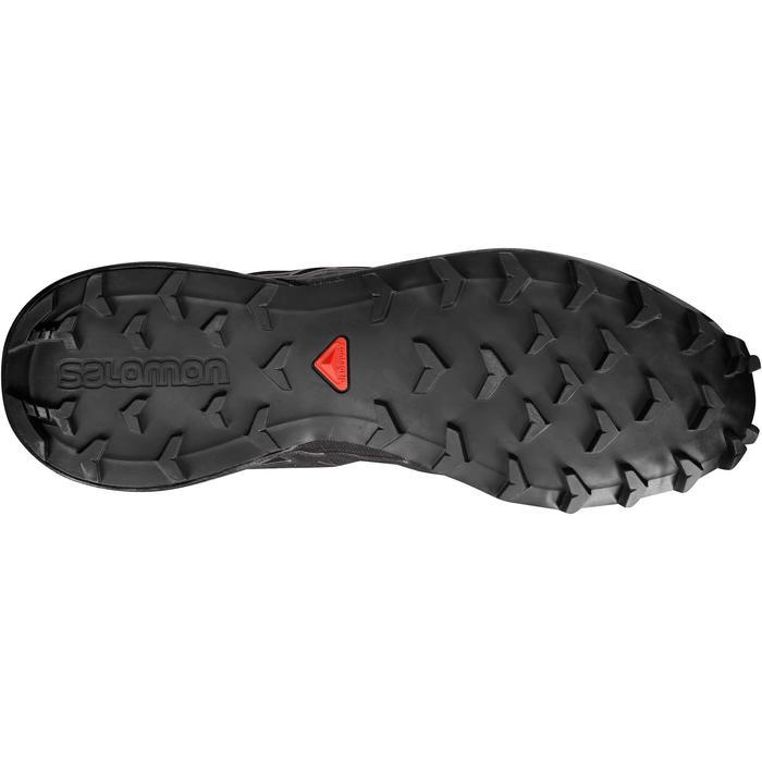 Laufschuhe Trail Speedcross 4 Herren schwarz