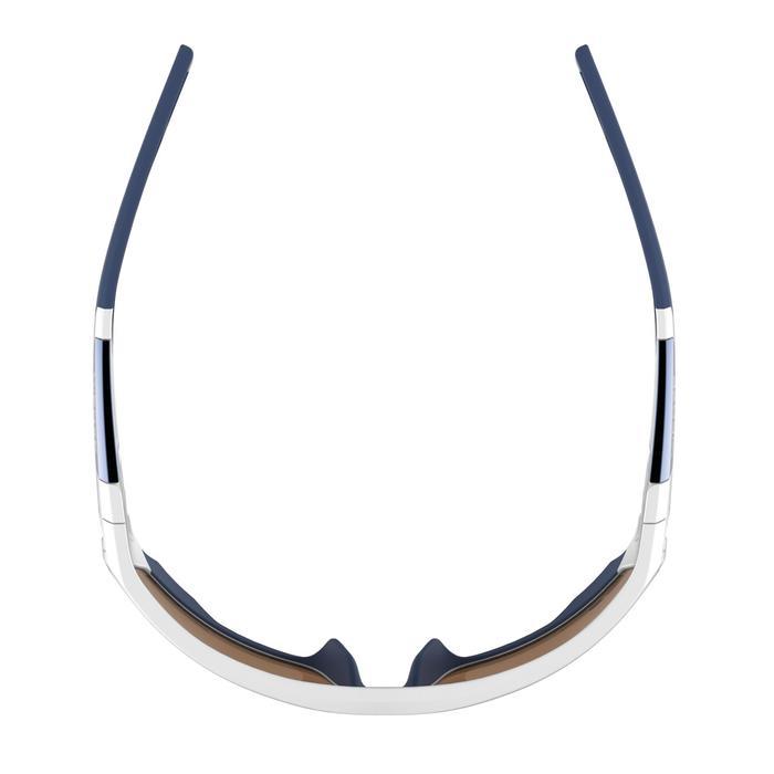 Lunettes de randonnée adulte MH 910 noires/bleues verres interchangeables cat4+2 - 1072675