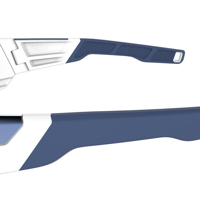 Lunettes de ski adulte SKIING 900 blanches - 2 verres interchangeables cat 4+2
