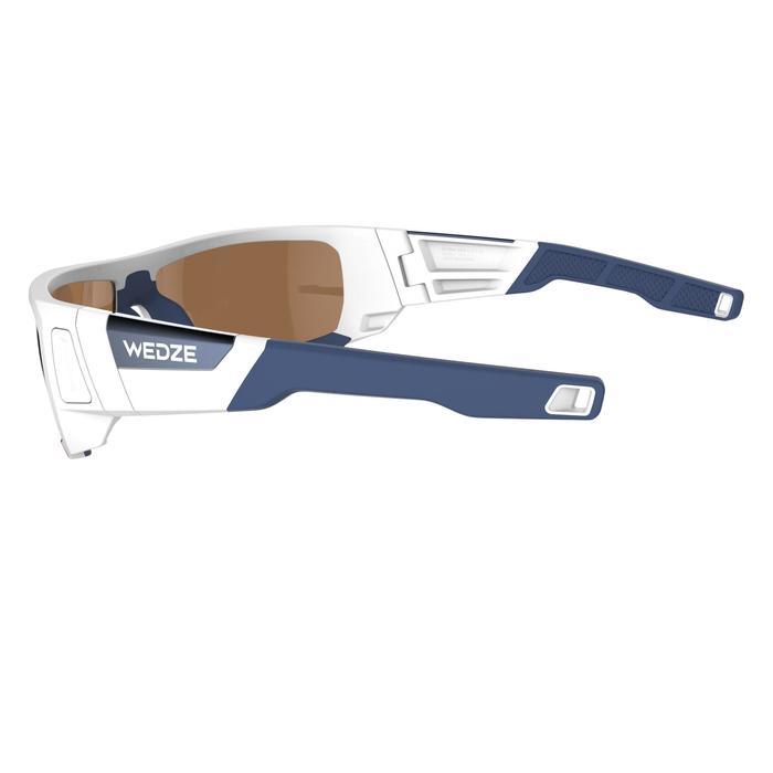 Lunettes de randonnée adulte MH 910 noires/bleues verres interchangeables cat4+2 - 1072680